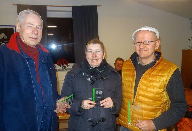 Vereinsmeisterschaft 2017 mit Manne - Claudia - Jürgen
