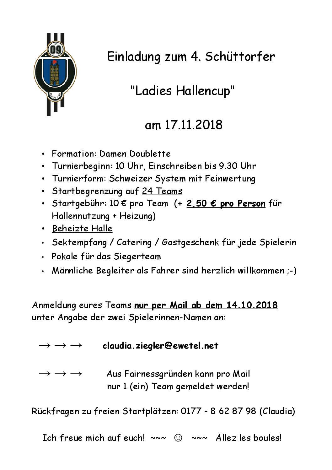 Ladies Hallencup