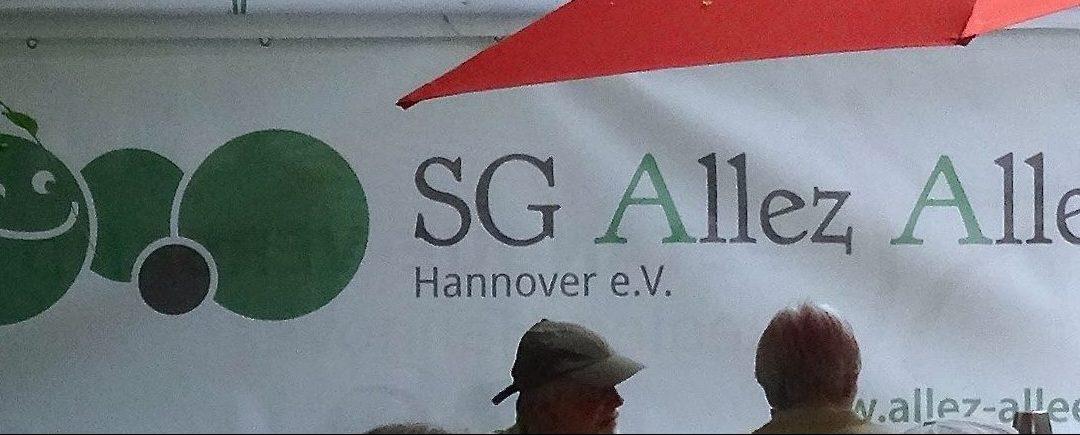 Mitgliederversammlung der SG Allez Allee Hannover e.V. beim SV Odin
