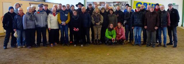 27.01.2019  Vereinsmeisterschaft der SG Allez Allee Hannover